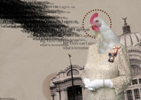 Chicken woman by federicopyramid