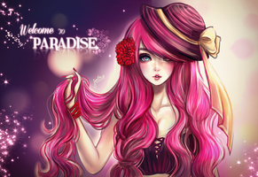 Welcome to Paradise - Little Princess by Janjanita