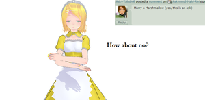 Answer four ~Marry~ by Ask-mmd-Maid-Rin