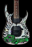Swarovski Guitar - Poison 2 by z0mbieparade