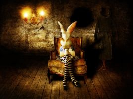 mad rabbit by smalldarkplace