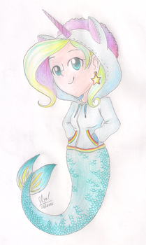 The Unicorn Mermaid by YourSuperHeroine