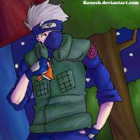 Kakashi - Night by Kooosh