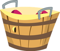 Mostly Empty Apple Bucket by uxyd