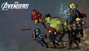 Avengers Assemble !!! by ChickenzPunk