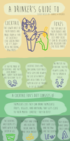Drinker's Guide to Cocktail Foxes by eqqr0ll