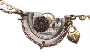 'Constance' steampunk necklace by JLHilton