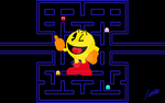 Super Smash Bros Wii U/3DS - PAC-MAN by JuanjoseSA97