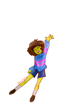Frisk/The Player by Electra-Fab-Cap