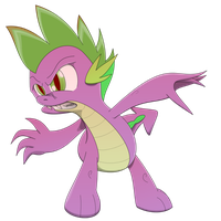Spike the Dragon by Arby-Works