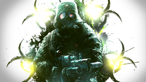 Masked ghillie man wallpaper by OriginalBoss