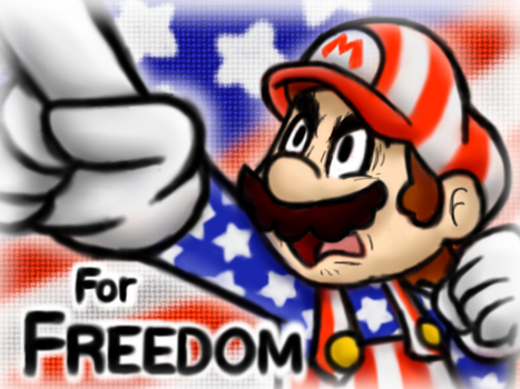 For Fun, For Glory, For Freedom!! (?) by SuperLakitu