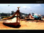 Chennai Marina Beach after Thane Attack by sahtel08