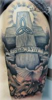 Cross 2 by state-of-art-tattoo