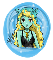 Lagoona sketch by ClaraKerber