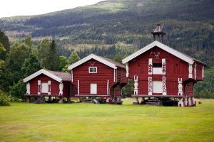 Three small houses by olgaFI