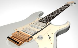Ibanez JEM 7 close up by Hauns