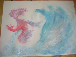 Toothpaste painting 2 by Le-Poireau-Neptunien