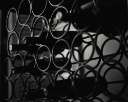 Wine rack by Shirimasen