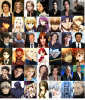 Fate/Zero Live-action cast by maple125