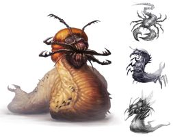 Maggot Marvin by BMacSmith
