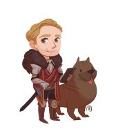 Mini Cullen by fydraws