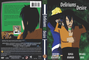 FAKE DVD Project Deliriums Desire by HommicidalPenguinsCo