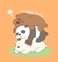 WeBareBears by OysteIce