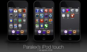 Sangano iPod Touch by paralexLX