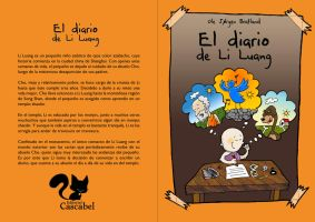 The diary of Li Luang - cover by arwenita