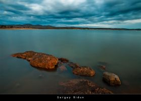 Cloudy Day on Folsom Lake... by sergey1984