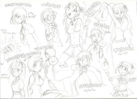 Hetalia Girls by GGTheOtakuHero
