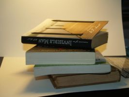 book stack by Irie-Stock