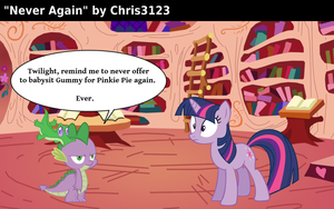 Never Again by Chris3123