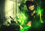 Green Girl Signature by Ryuugens