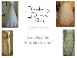 Fantasy Dress Pack by ruby-stocknstuff