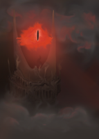 The Eye of Sauron by NewPie
