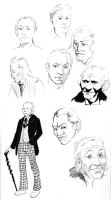 First Doctor Sketches by key-0