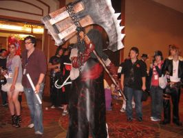 Resident Evil Afterlife Axeman by whitetigergp