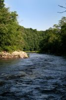 Kenduskeag river by 611productions