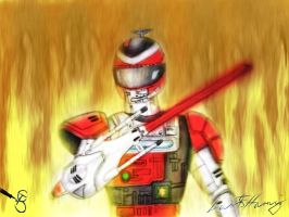 Fire Tector Drawing Colored 2 by Starcat666