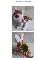 Pattern: Chibi Amaterasu - Okami by MarlinGrey