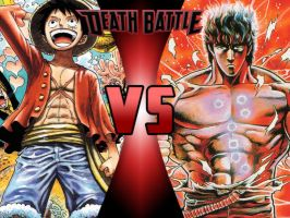 Luffy vs Kenshiro by ToxicMouse77