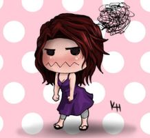 Me Chibi - Frustrated by Katoons88