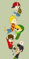 Super Smash bros: Hang on! by Ca14