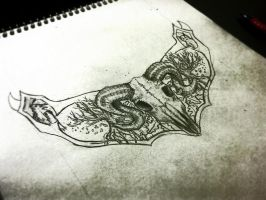 Sketch of my next Sculpted neck-piece by StormbloodCurio