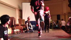 Live Performance during Arcade Con by JenniferMulkerrin