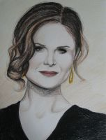 Emily Deschanel -Colour by AnoukvanderMeer