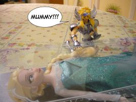 Frozen Mummy by mary-dab
