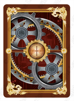 Bicycle Actuators Playing Card by multimiller